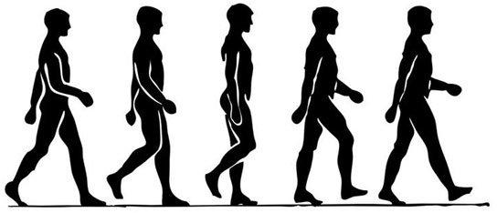 Postura correcta para andar